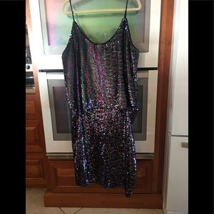Sequin 2 pc party outfit